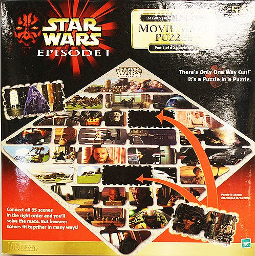 Star Wars Episode I Movie Maze Puzzle