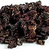Hibiscus Flowers - Dried - 1 resealable bag, 4 oz