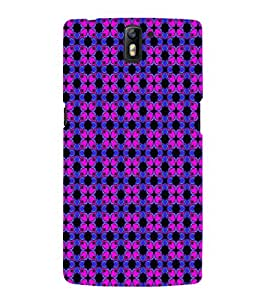 EPICCASE fashionable flowers Mobile Back Case Cover For OnePlus One (Designer Case)