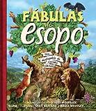 img - for Fabulas de Esopo: Un desplegable de cuentos clasicos (Spanish Edition) book / textbook / text book