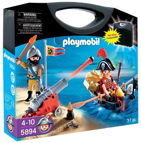 Playmobil Pirates Carrying Case Playset front-489843