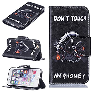 iPhone 6 / iPhone 6s Case, UNEXTATI Apple iPhone6 / iPhone6s Premium Leather Wallet Case with Protective Cover, Magnetic Clip from UNEXTATI