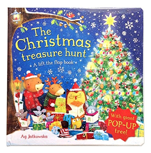 The Christmas Treasure Hunt: A pop-up book (Lift the Flap Book)