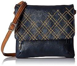 Baggit Women's Cosemetic Bag (Navy Blue)