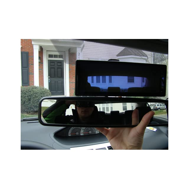 Pyle PLCM105 10.2 Inch TFT LCD Rear View Mirror Monitor with Back Up Camera