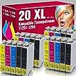 ms-point� 20 kompatible Druckerpatronen f�r Epson Stylus Office B42 WD BX305 F BX305FW BX305 FW Plus BX320 FW BX525 WD BX 535 WD BX625 FWD BX630 FW BX635 FWD BX925 FWD BX935 FWD SX230 SX235 SX235 W SX420 W SX425 W SX430 W SX435 W SX438 W SX440 W SX445 W SX525 WD SX535 WD SX620 FW Workforce 525 630 WF3010 DW WF3520 DWF WF3530 DTWF WF3540 DTWF WF7015 WF7515 WF7525