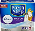 Fresh Step Multi-Cat with Febreze Freshness, Clumping Cat Litter, Scented, 20 Pounds