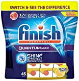 Finish Quantum Lemon (Pack of One, Total 45 Tablets )
