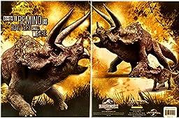 Jurassic World Triceratops Portfolio Folder (2 Pack)
