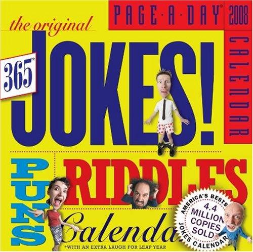 The Original 365 Jokes, Puns & Riddles 2008 Page-A-Day Calendar - Buy The Original 365 Jokes, Puns & Riddles 2008 Page-A-Day Calendar - Purchase The Original 365 Jokes, Puns & Riddles 2008 Page-A-Day Calendar (2008 Calendars, Office Products, Categories, Office & School Supplies, Calendars Planners & Personal Organizers, Desktop Calendars & Supplies, Desk Calendars)