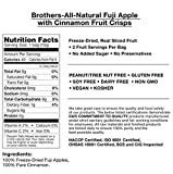 Brothers-ALL-Natural Freeze Dried Fruit Crisps Disney Mickey Mouse Sliced Apples With 100% Pure Cinnamon 12 Pack, .35 Oz. Ea. (12 Bags Total)