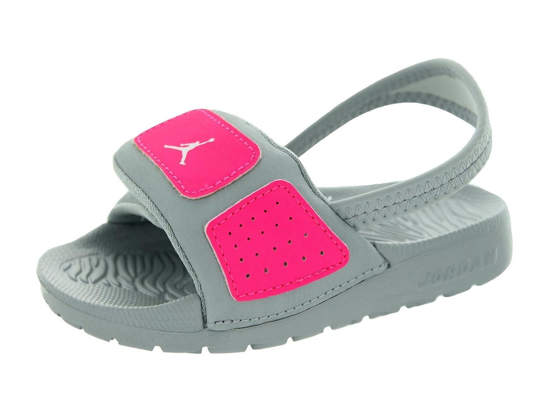 9327c93e5b7715 Nike Jordan Toddlers Jordan Hydro 3 Gt Mtlc Platinum White Hyper Pink Sandal  9 ...