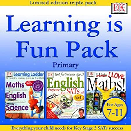 Learning is Fun Pack Primary (Learning Ladder Ages 9-10, English SATs Age 11, I Love Maths)