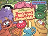 Jim Henson's Scary Scary Monsters (0307332004) by Weiss, Ellen