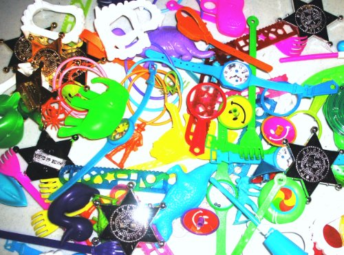 96 Pc. Party Favor Assortment, Pinata Filler, Small & Medium Toys