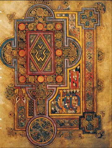 Handstiched Book of Kells Lined Quoniam
