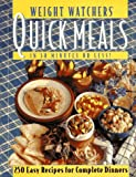 Weight Watchers Quick Meals (0028603516) by Weight Watchers