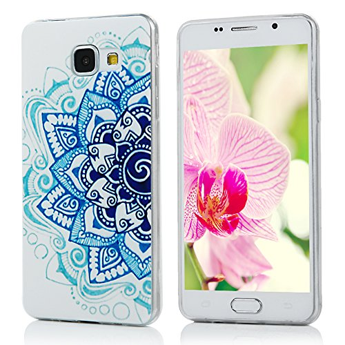 Samsung Galaxy A5 Custodia 2016 Version, YOKIRIN Dipinto Cover di TPU Case Bumper Cassa Copertina per Samsung Galaxy A5 2016 Version -fiore Totem
