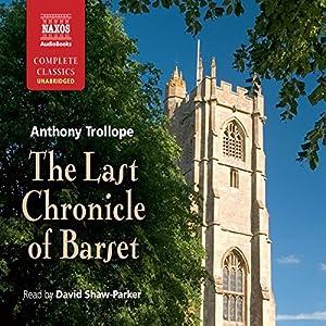 The Last Chronicle of Barset Audiobook
