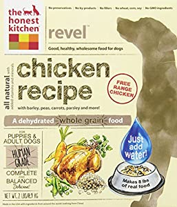 The Honest Kitchen Revel Chicken and Whole Grain Dog Food, 2-Pound