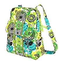 Hot Sale Vera Bradley Backpack Purse in Lime's Up