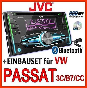 VW passat 3C/b7/cC-jVC-kW-r910BT 2-dIN avec uSB