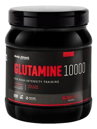 Body Attack Glutamine 10000 300 Kapseln, 1er Pack (1 x 0.433 kg)