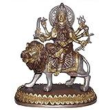 """Antike Skulptur Der Hindu-Gottin Durga Sitzendvon """"ShalinIndia"""""""