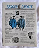img - for Serger Update Vol. 7 No. 10 January 1994 book / textbook / text book