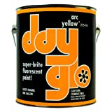 DayGlo Fluorescent Solvent-Based 215 Series Brushing Enamel Paint (Gallon, Arc Yellow, 215-16) (Color: Arc Yellow, Tamaño: Gallon)