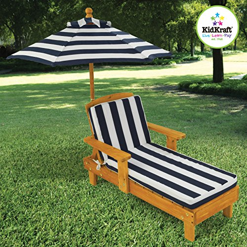 Outdoor Chaise with Umbrella (Outdoor Kid Furniture compare prices)