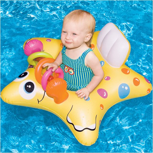 Starfish Inflatable Baby Seat - 1