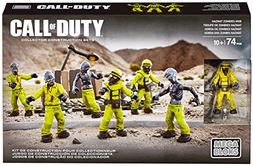 Mega Bloks Call of Duty Hazmat Zombies Nuketown Mob Playset