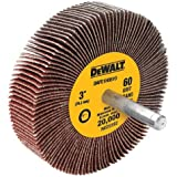 DEWALT DAFE1H1210 3-Inch by 1-Inch by 1/4-Inch HP 120g Flap Wheel