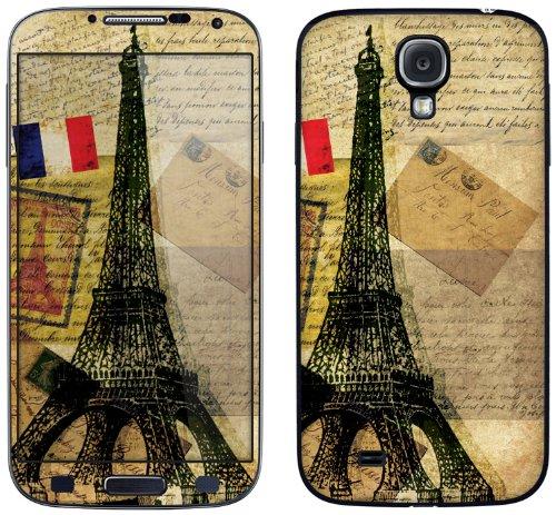 Cellet Vintage Eiffel Tower Skin For Samsung Galaxy S4