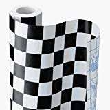 Checkerboard decorative covering
