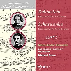 Rubinstein: Piano Concerto No. 4; Scharwenka: Piano Concerto No. 1