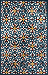 jaipur rug122942 modern geometric pattern wool
