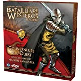 Battles of Westeros: Wardens of the West: House Lanister Reinforcement Set [With Rules & Battle Plans Book and 32 Cards and 32 Plastic Figures & Theirby Fantasy Flight Games