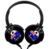 Lightweight Over-Ear Wired HiFi Stereo Australia Headphones