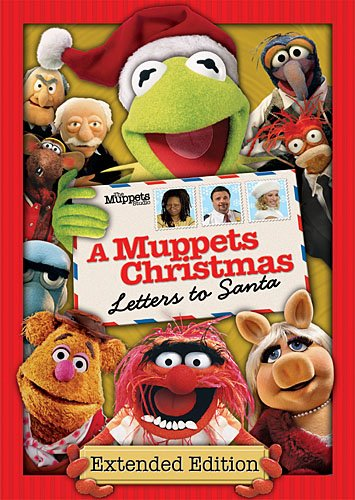 Cover art for  Muppets Christmas: Letters to Santa
