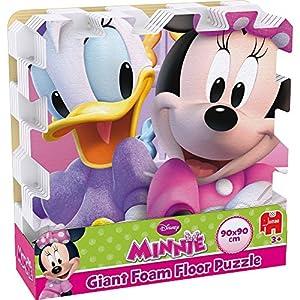Disney Minnie Bow Toons Giant Foam Floor Jigsaw Puzzle