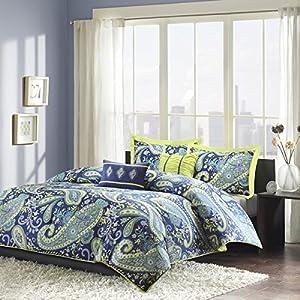 Amazon Com Modern Teen Girls Comforter Bedding Set With
