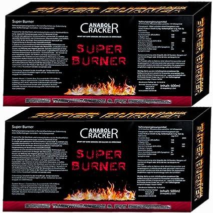 2X Super Burner Muskelaufbau, L-Carnitin Aminosäuren, 20 Diät / Fettreduktion 's Flaschen