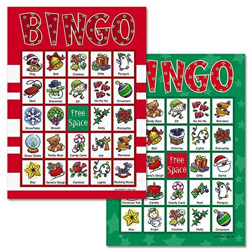Santa-Bingo-Game-18-Holiday-Bingo-Cards