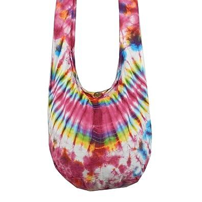 Cotton Shoulder Sling Bag 9