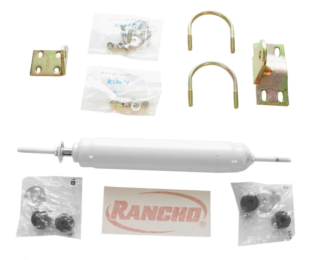 Rancho RS97355 Steering Stabilizer Kit motorcycle cnc steering damper stabilizer