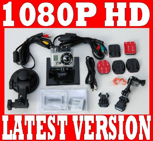 GOPRO HD 1080P HERO MOTORSPORTS DIGITAL VIDEO CAMERA