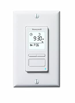 Honeywell Econoswitch RPLS740B1008/U 7-Day Solar Time Table Programmable Switch for Lights and Motors (White): Amazon.ca: Tools & Home Improvement