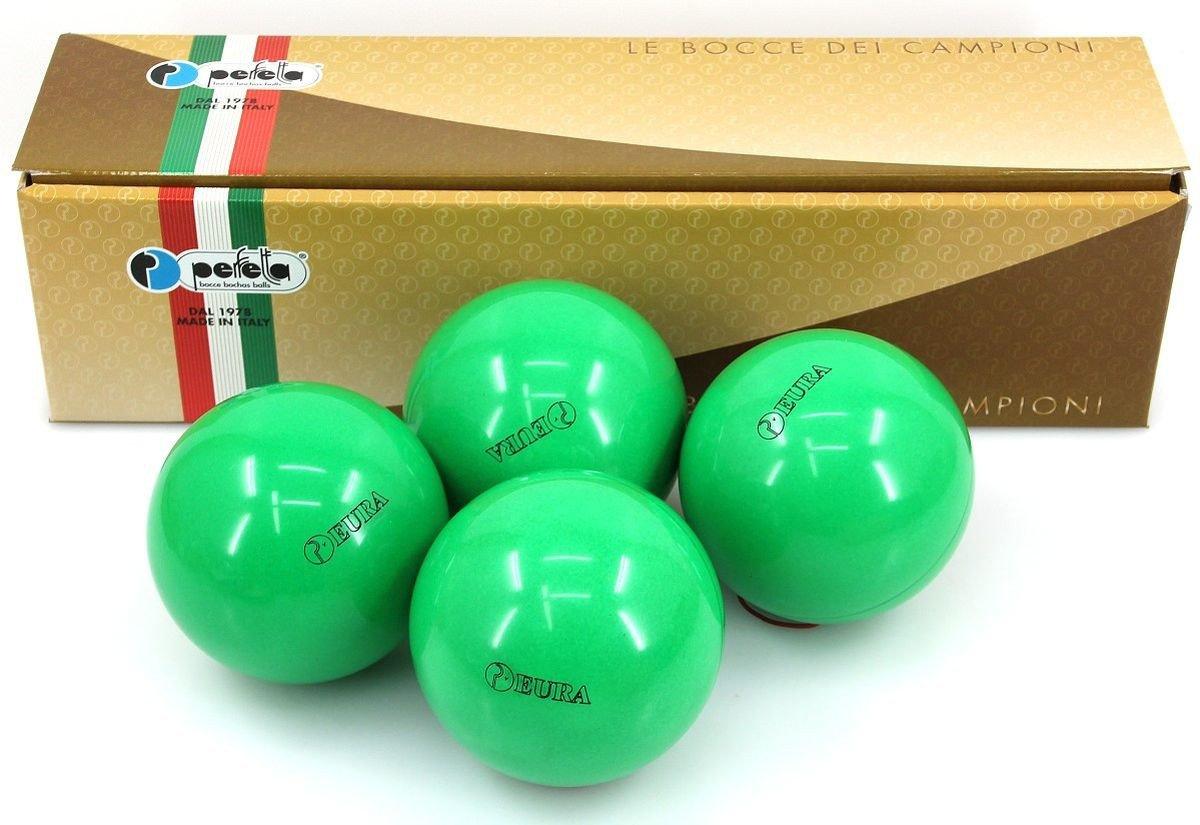 Perfetta EURA VERDE Wettkampf Boccia Kugeln (4er Satz) in Grün jetzt bestellen